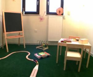Espace Anémo - salle d'attente (le petit jardin des enfants)